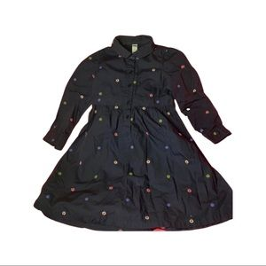 Baby Gap girl dress with flowers Sz 5